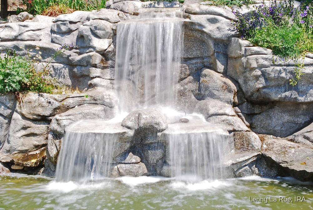 fountain structure at Lavender Ridge, Reno CA by Lenny La Rue, IPA