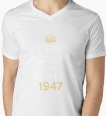 keep calm i am born in 1947 T-Shirt