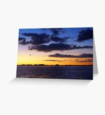 Layer Me Blue Greeting Card
