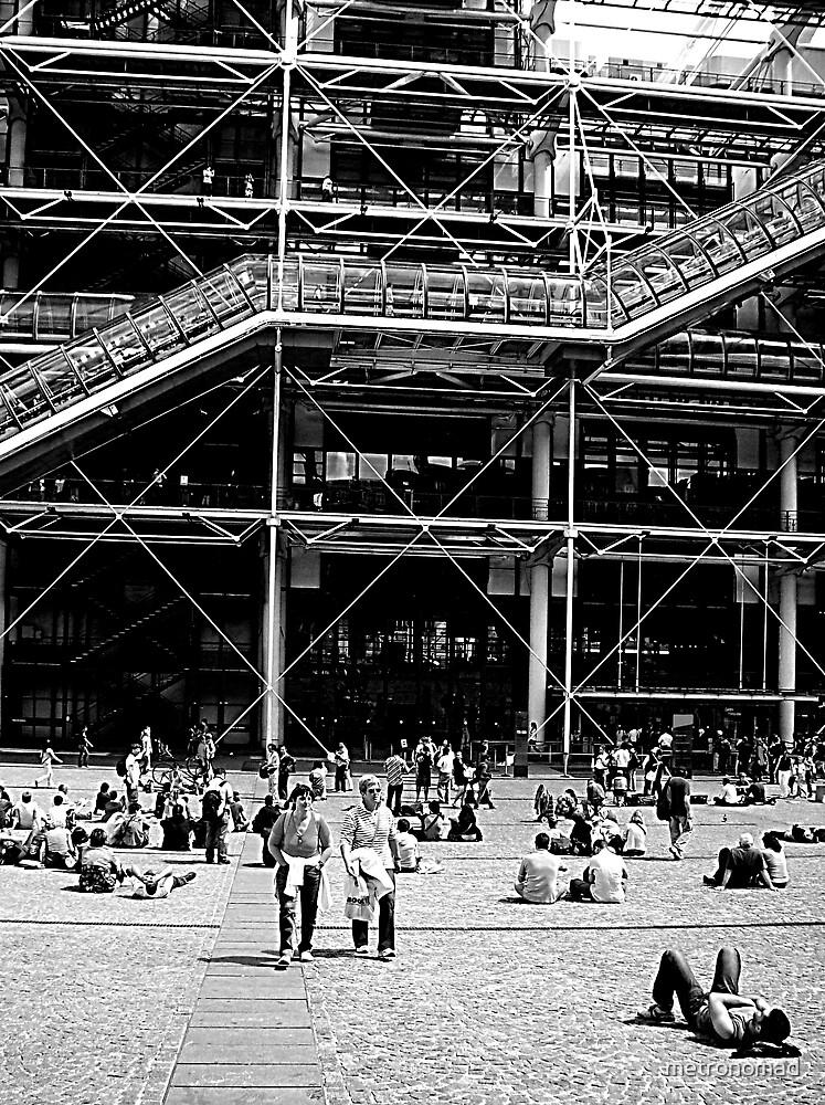 Centre Pompidou by metronomad