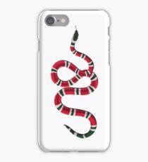 gucci inspired snake (big) iPhone Case/Skin