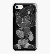 Sonic Mania Sketch iPhone Case/Skin