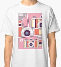 Colorful Retro Style Analogue Camera Classic T-Shirt