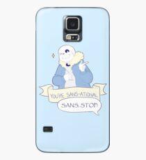 Funda/vinilo para Samsung Galaxy Usted es San-ational! - Undertale Sans
