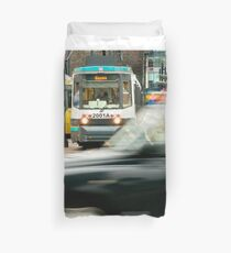 Rush Hour, Manchester Duvet Cover