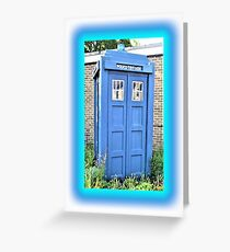 The Real Tardis Greeting Card