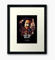 Can You Dig It - JOHN SHAFT Framed Print