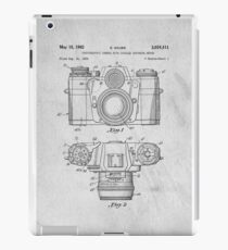 35mm Camera Original Patent Art iPad Case/Skin