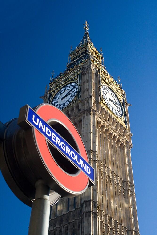 Big Ben Underground by rubberduck