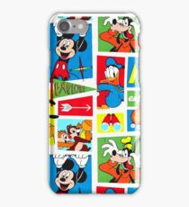 explore micky duck goofy iPhone Case/Skin
