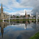 River Ness Reflections by jacqi