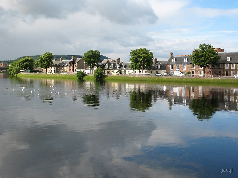 River Ness Reflections 2 by jacqi