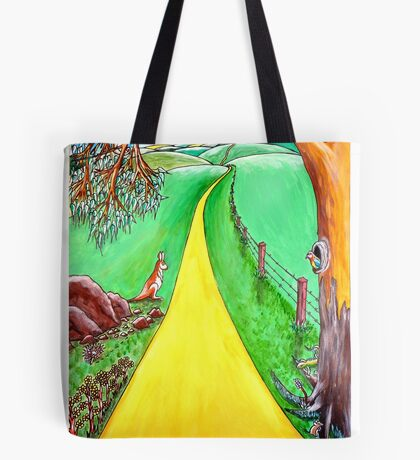 The road to the future Tote Bag