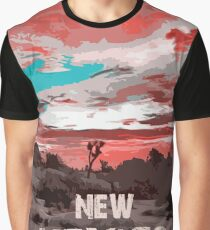 New Mexico Panorama Graphic T-Shirt