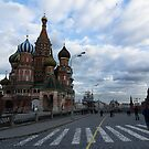 Palace of adornments - St Basil's Moscow Russia by Norman Repacholi