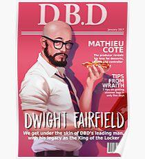 Póster Portada de la revista Dead by Daylight - Dwight Fairfield