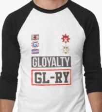 Gloyalty with Glory glogangworldwide Men's Baseball ¾ T-Shirt