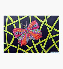 411 - FANTASY BUTTERFLY - DAVE EDWARDS MIXED MEDIA - 2014 Photographic Print