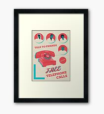 Rocky, Tyler and Carti - Telephone Calls Framed Print