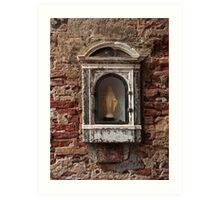 Wall Niche In Venice Art Print
