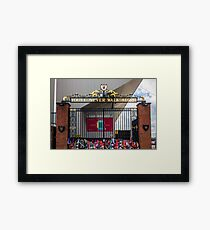 The Shankly Gates - Anfield Framed Print