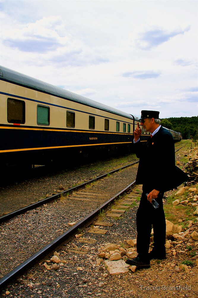 Grand Canyon Railway by Tracey Bransfield