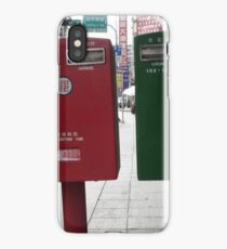 red / green iPhone Case