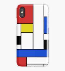 Mondrian Lines iPhone Case/Skin