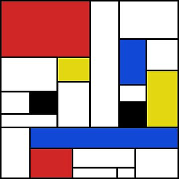 Mondrian Lines by JCDesignsUK