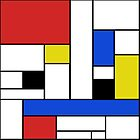 Mondrian Lines by JCDesignsUK