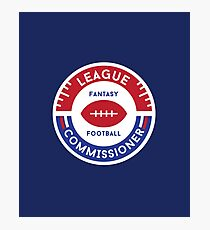 Fantasy Football League Commissioner Photographic Print
