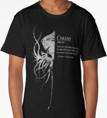 Cthulhu (granite) Long T-Shirt