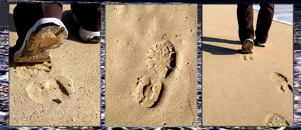 Footprints by taueva