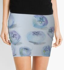 Summer Blueberries Mini Skirt