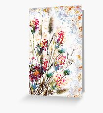 Wild flowers Greeting Card