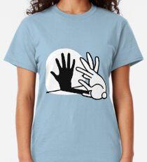 Rabbit Hand Shadow Puppet  Classic T-Shirt