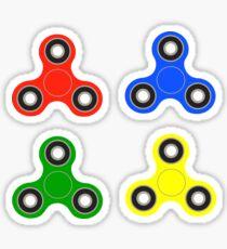 fidget spinner stickers (colored) Sticker
