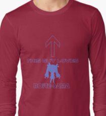 This guy loves Noire-sama T-Shirt
