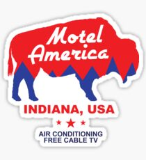 Shadow Moon Motel America - Indiana USA Sticker