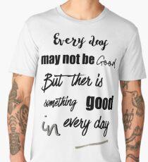 inspirational quotations of life Men's Premium T-Shirt