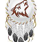 Wolf Traumfänger von DCornel