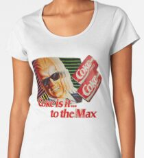 Max Headroom 80s Coke Ad Women's Premium T-Shirt