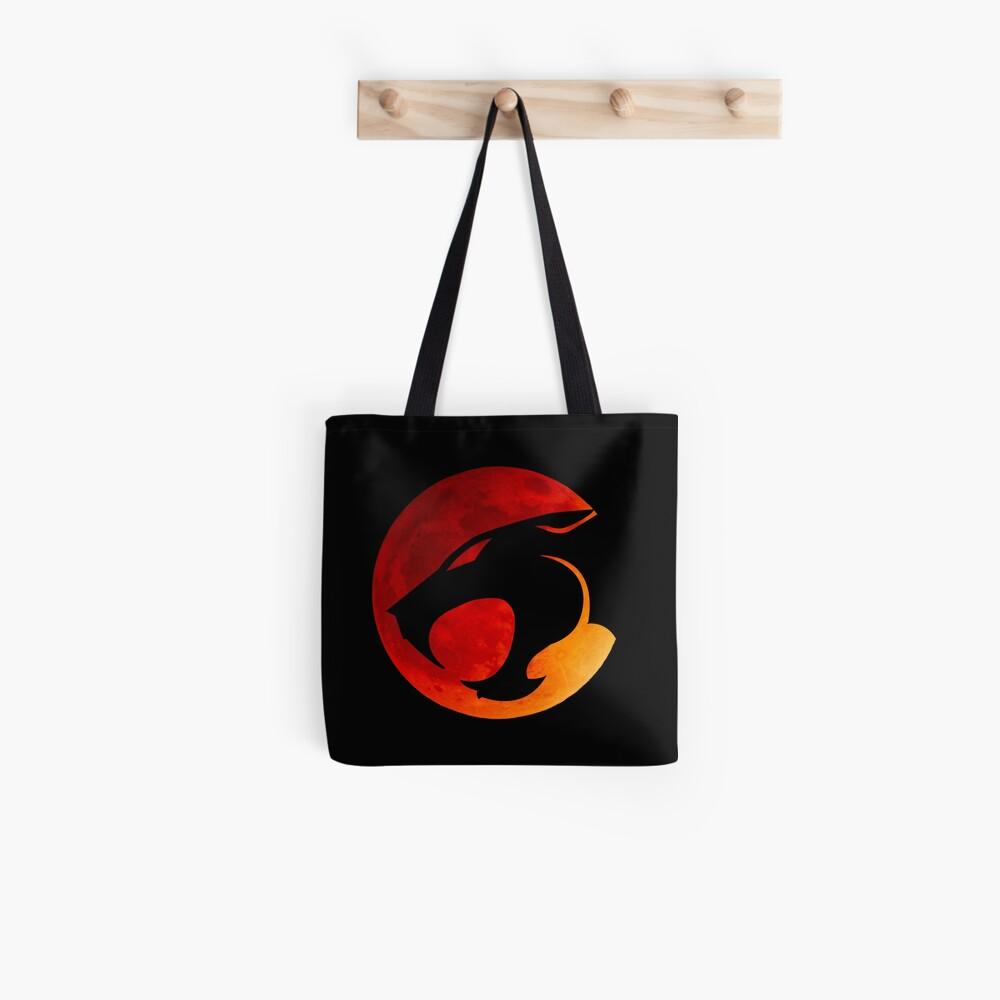 Donnerkatzen - Roter Mond Tote Bag