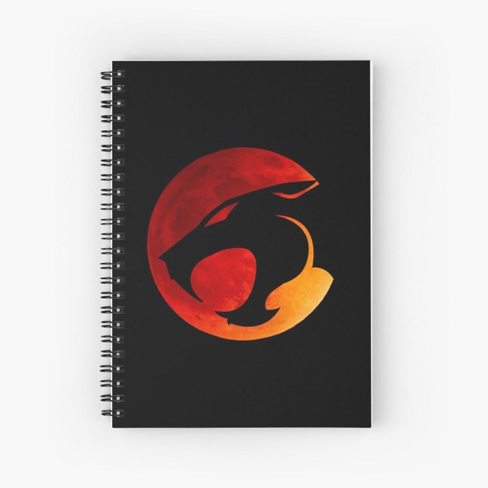 Donnerkatzen - Roter Mond Spiralblock