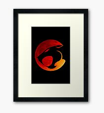 Thundercats - Red Moon Framed Print
