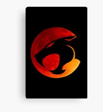 Thundercats - Red Moon Canvas Print