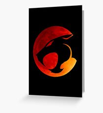 Thundercats - Red Moon Greeting Card