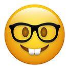 Nerd Geek Emojy von DCornel