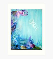 Under the Sea - The Great Barrier Reef Art Print