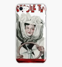 Automobile Two Step Print iPhone Case/Skin